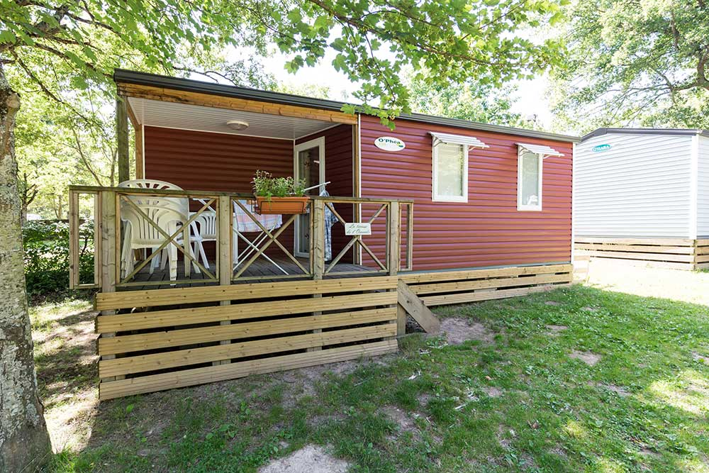 Mobil-homes - Camping in Auvergne